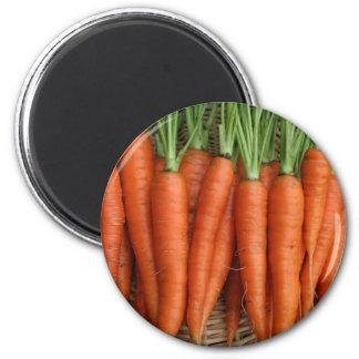 Garden Fresh Heirloom Carrots Magnet