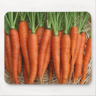 Garden Fresh Heirloom Carrots Mouse Pad