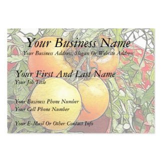 Garden Fresh Heirloom Tomatoes Business Cards
