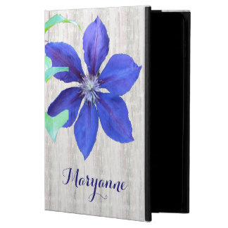 Garden Fresh Purple Clematis Flowers Powis iPad Air 2 Case