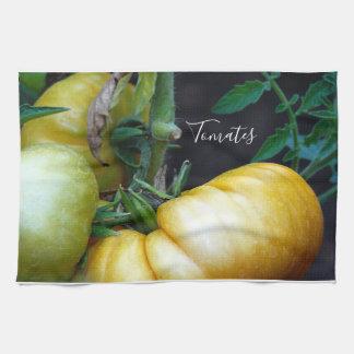 Garden Fresh Tomatoes on the Vine Tea Towel