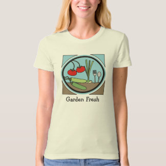 garden fresh vegetables cooking kitchen apparel... T-Shirt