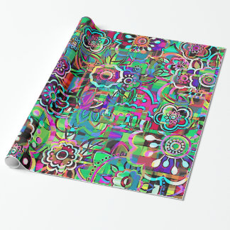 Garden full of Flowers Wrapping Paper