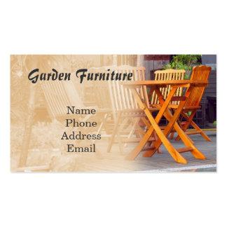 Garden Furniture Business Card