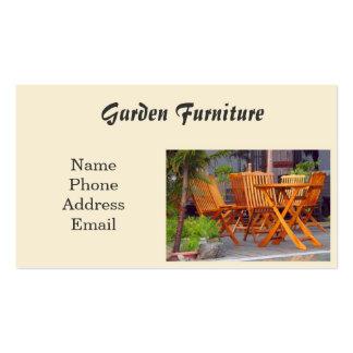 Garden Furniture Pack Of Standard Business Cards