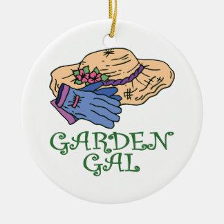 Garden Gal Ornaments
