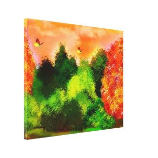 garden gallery wrap canvas