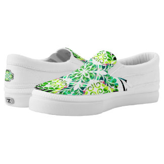 Garden Gate Abstract Shoes Printed Shoes