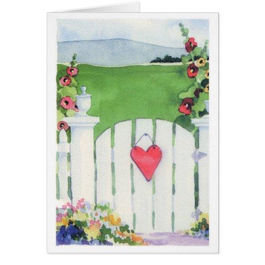 Garden Gate - Note Card