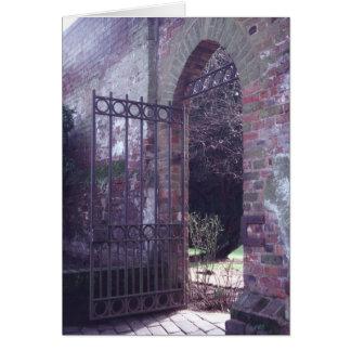 Garden Gate, St. Albans card