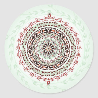 Garden Gem Mandala Stickers