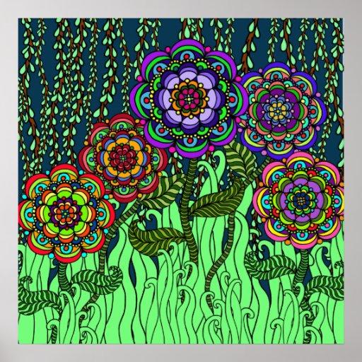 Garden Glow Poster