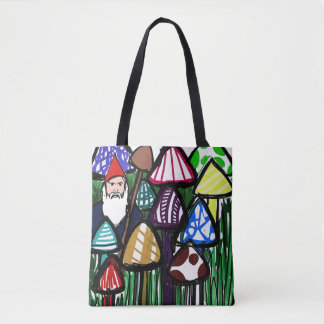 Garden Gnome Tote Bag