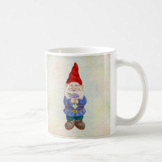 Garden Gnome with Flower mug