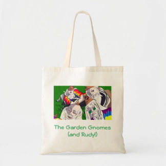 Garden Gnomes tote bag