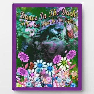 Garden Goddess Dance In The Dark Picture Plaque