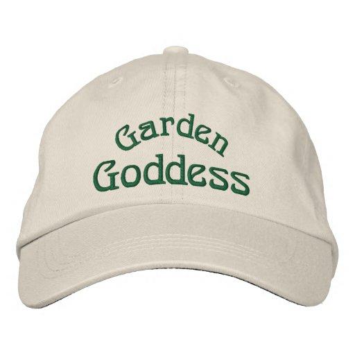 Garden Goddess Funny Embroidered Hat