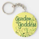 Garden Goddess Keychains