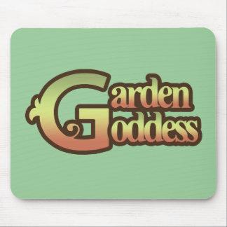Garden Goddess Mouse Pads