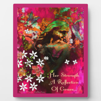 Garden Goddess Reflections of Grace Picture Plaque