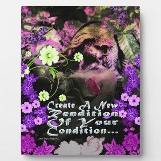 Garden Goddess Rendition Picture Plaque