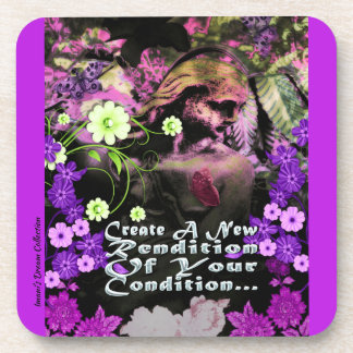 Garden Goddess Rendtion Condition Coaster Set
