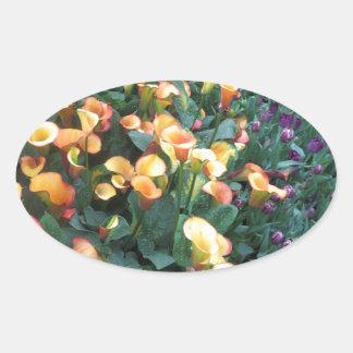 GARDEN Happiness: Flowers Golden Yellow Charm FUN Stickers