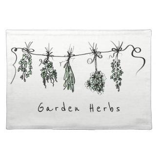 Garden Herbs Placemat