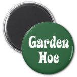 Garden Hoe Fridge Magnets