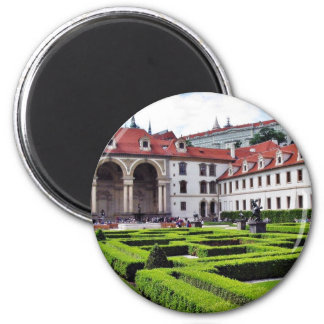 Garden In Prague Magnet