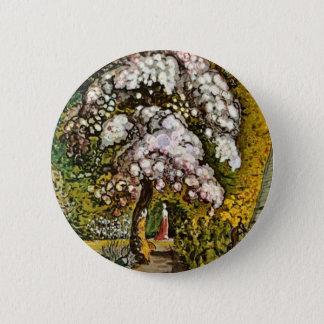 Garden In Shoreham By Palmer Samuel (Best Quality) 6 Cm Round Badge