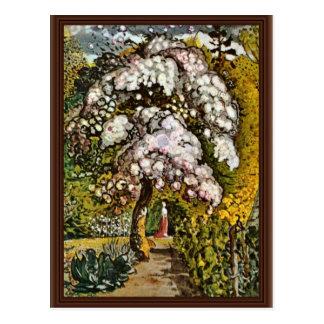 Garden In Shoreham By Palmer Samuel (Best Quality) Postcard