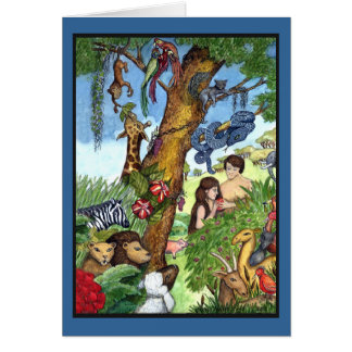 Garden of Eden - Customized Card