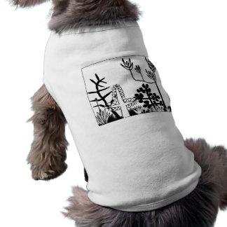 Garden of Eden Sleeveless Dog Shirt