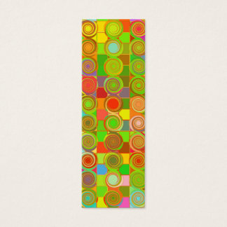 Garden of Galaxies Bookmark Mini Business Card