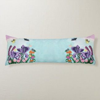 Garden of Heavenly Delights Body Cushion