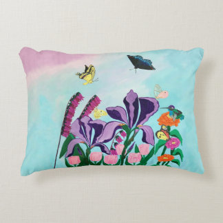 Garden of Heavenly Delights Decorative Cushion