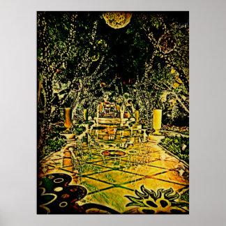 Garden of Lights Print