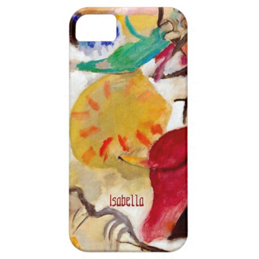"""Garden of Love"" Wassily Kandinsky Abstract iPhone 5 Case"