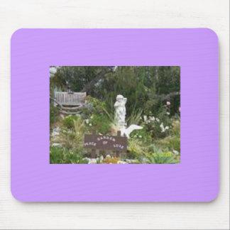 Garden of Peace & Love - Copy Mouse Pad
