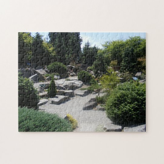 Garden of Rocks and Trees Puzzle
