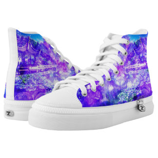 Garden of Serenity Printed Shoes