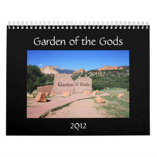 Garden of the Gods 2012 Calendar