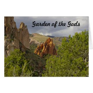 Garden of the Gods Card