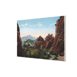 Garden of the Gods, Colorado - Seal and Bear Canvas Print