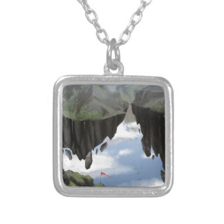 Garden Of The Gods Silver Plated Necklace