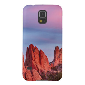 Garden of the Gods Sunset View Galaxy S5 Cases