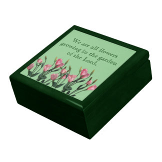 Garden of the Lord Quote Gift Boxes