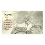 GARDEN OF THE LOST SHADOWS BUTTERFLY MONOGRAM PACK OF STANDARD BUSINESS CARDS