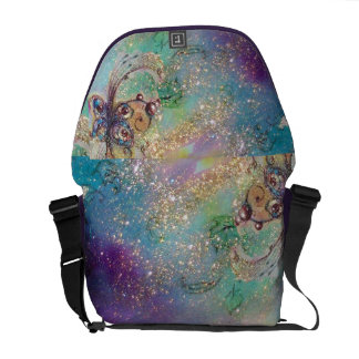 GARDEN OF THE LOST SHADOWS -MAGIC BUTTERFLY PLANT COMMUTER BAGS
